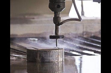 CNC Su Jet Kəsmə Çelik - Qranit - Plastik kəsmək üçün CNC Sujet Kesici Maşın